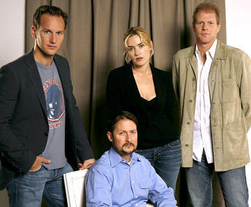 Patrick Wilson , director Todd Field , Kate Winslet and Noah Emmerich 2006 Toronto Film Festival